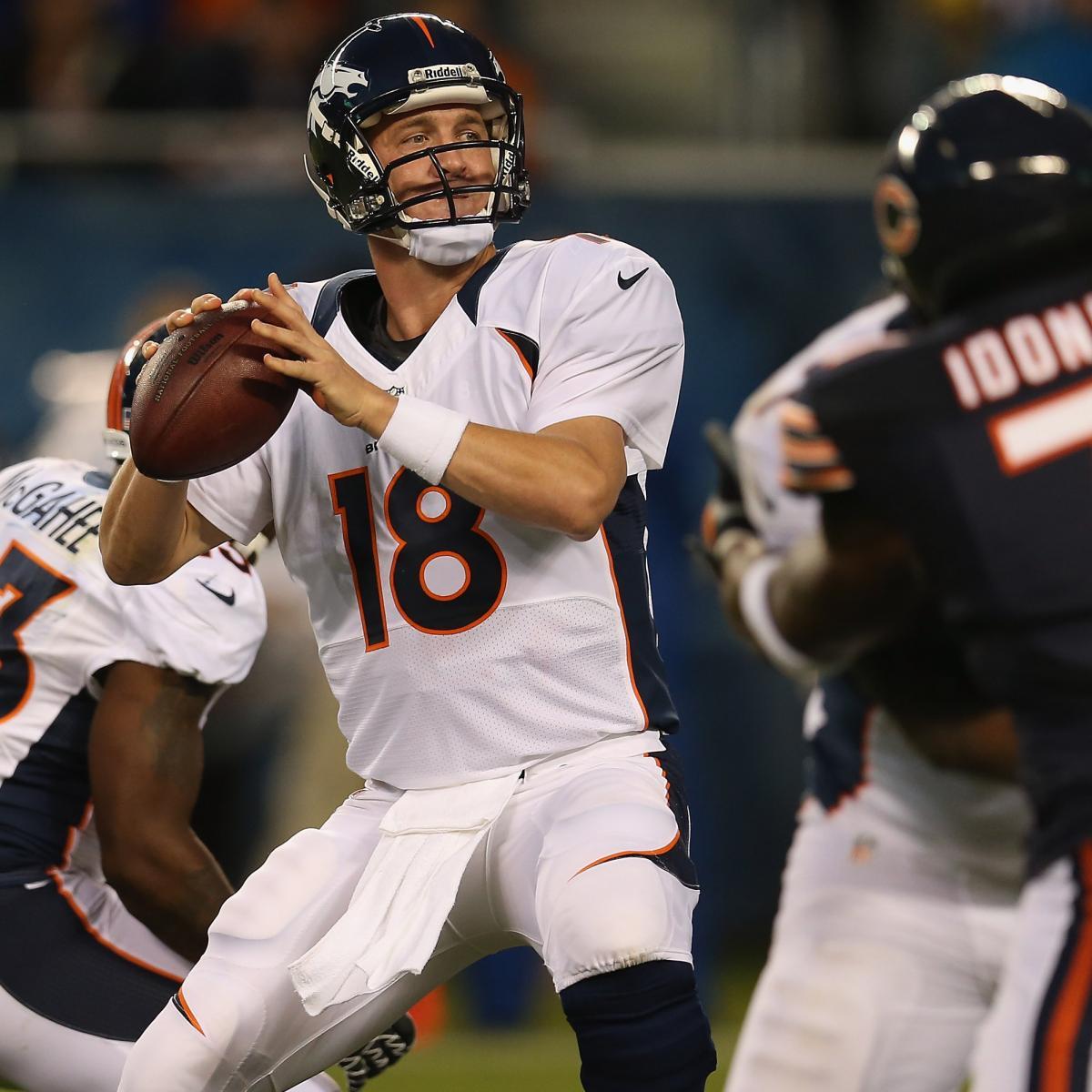 Peyton Manning: Health, Not Performance, Key To Denver