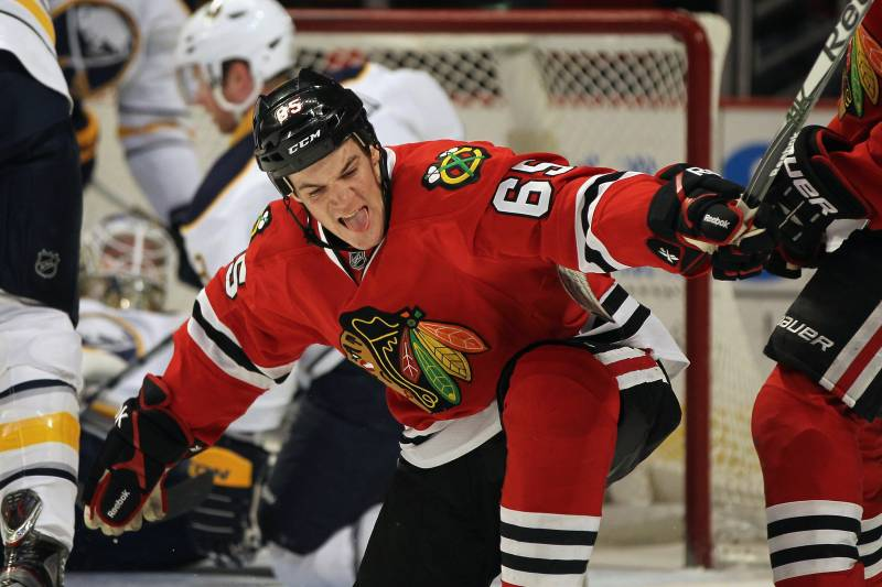 sneakers for cheap ff7da 3165a Chicago Blackhawks: Can Andrew Shaw Top Last Season ...