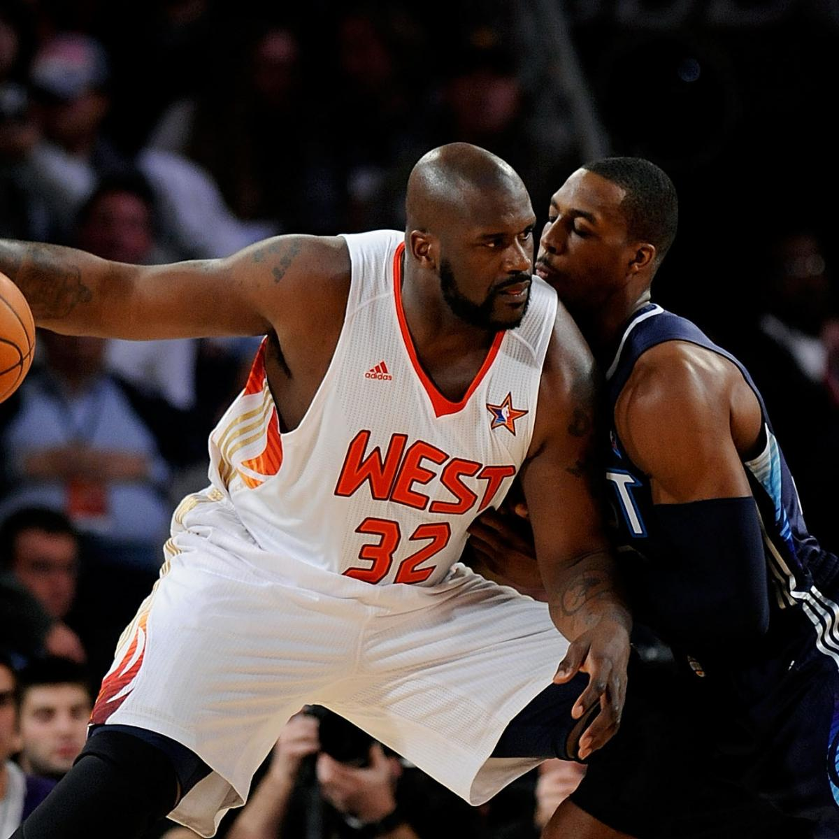 53c9e190060f Los Angeles Lakers  Comparing Dwight Howard and Shaquille O Neal ...
