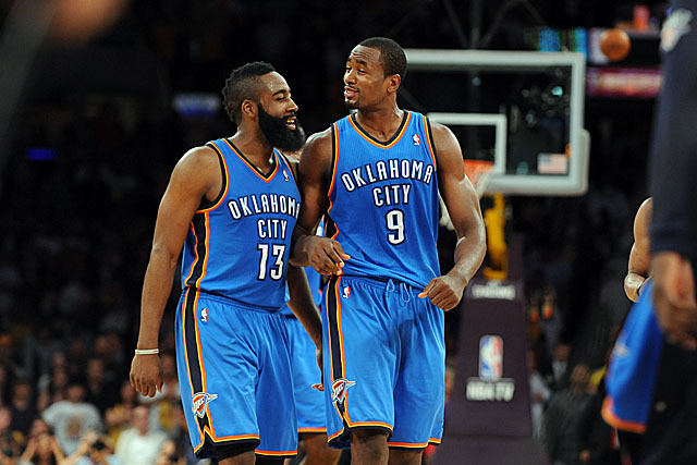 ef91d962 Is James Harden or Serge Ibaka More Important to OKC Thunder's ...