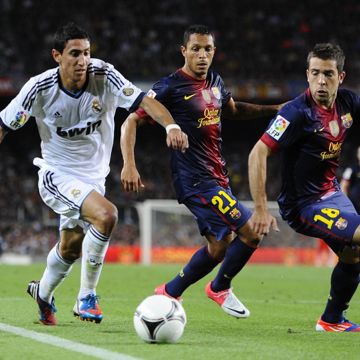 Barcelona 1 2 Real Madrid Vintage Ronaldo Silences The: Real Madrid Vs. Barcelona: 6 Key Battles To Watch In
