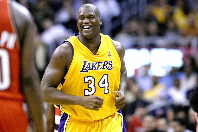 3321a6edc64c The Los Angeles Lakers will reportedly retire Shaquille O Neal s No. 34 on  April 2