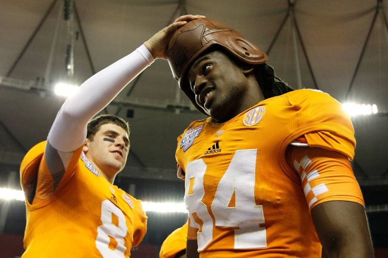 timeless design 1cd09 fb638 Tennessee Football: Analysis from the Volunteers Week 1 ...
