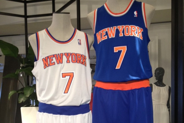 3ce2d07ecc6 Knicks New Uniforms: Breaking Down New York's New Look for 2012-13 |  Bleacher Report | Latest News, Videos and Highlights