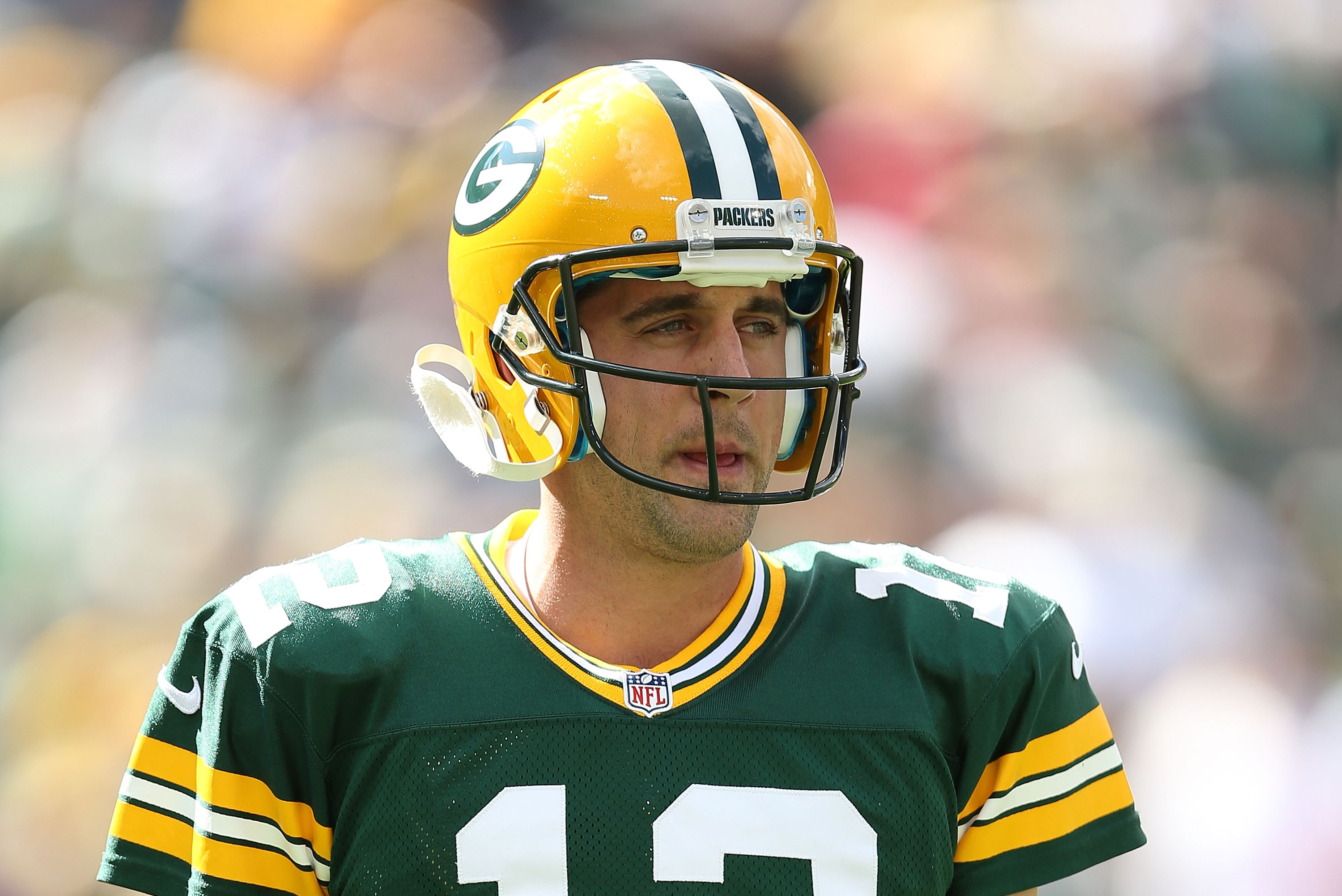 Aaron Rodgers Will Don 49ers Jersey All Week Thanks To Bet Lost To Boyz Ii Men Bleacher Report Latest News Videos And Highlights