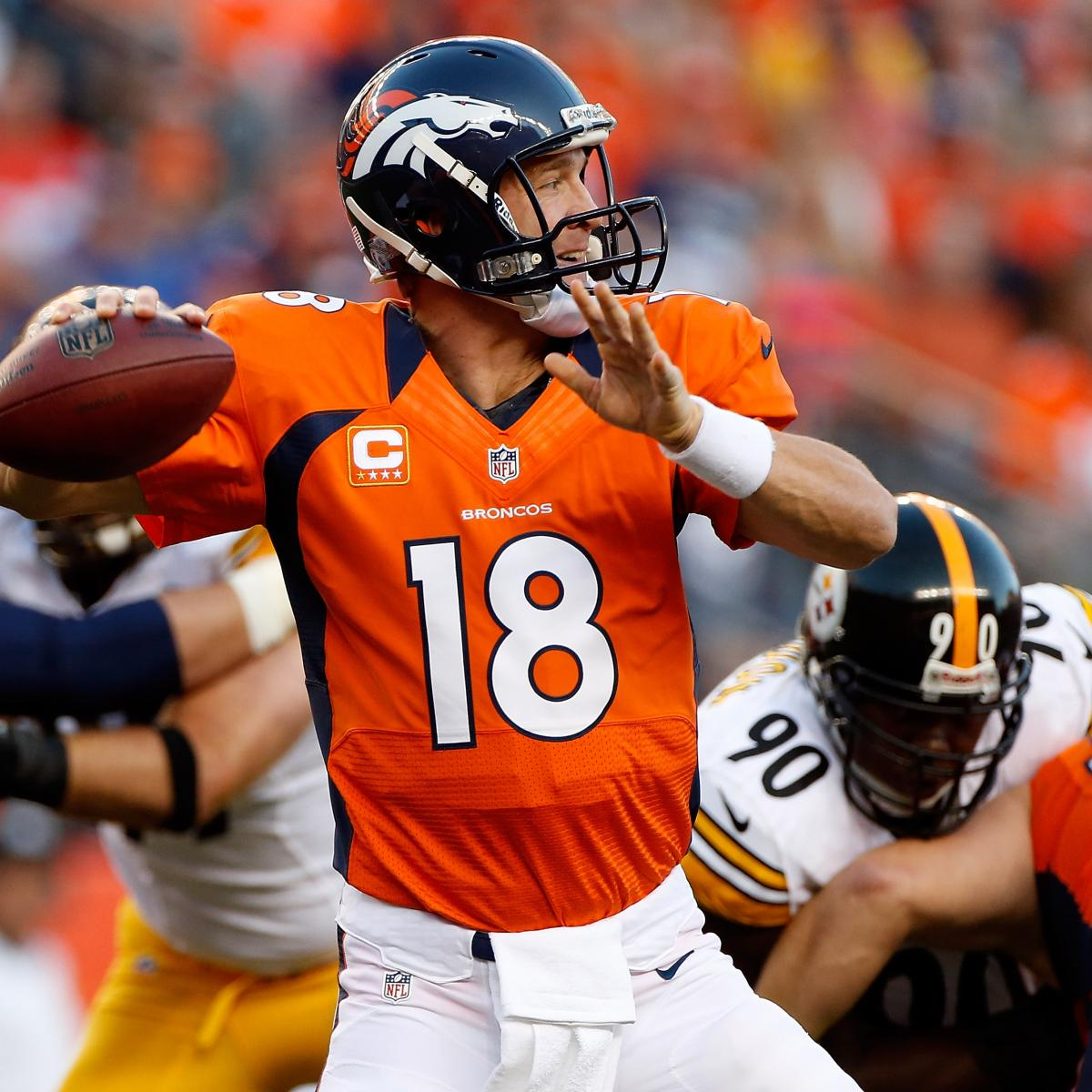Former Broncos Player Arrested: Peyton Manning: Veteran QB's Efficiency Will Be Biggest