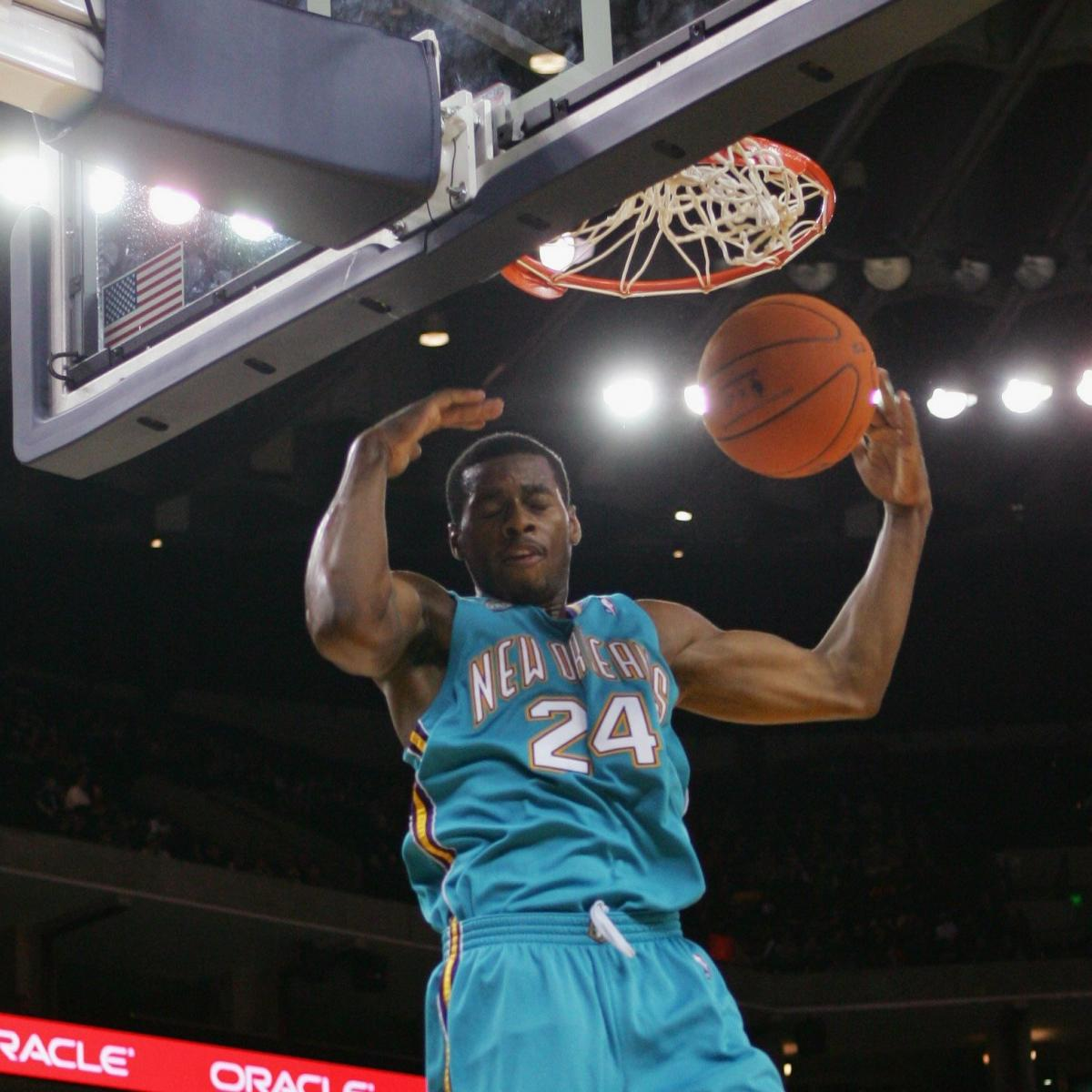 6d4ae9a09 The Top 5 Most Amazing Dunkers in New Orleans Hornets History ...