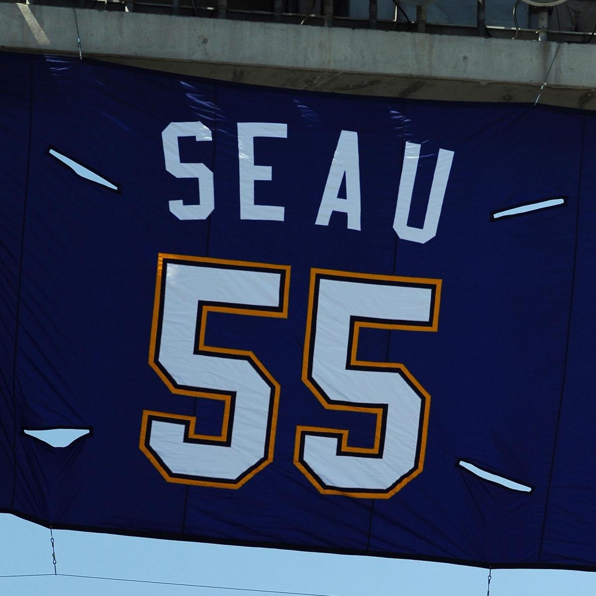 San Diego Chargers Home Schedule: San Diego Chargers To Retire Junior Seau's Number 55