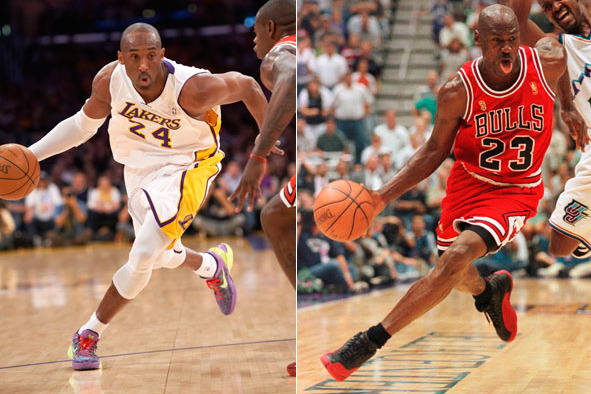 a6f798e0278f Why the Kobe vs. Jordan Highlight Reel Proves Bryant Isn t Just a Tribute  Band