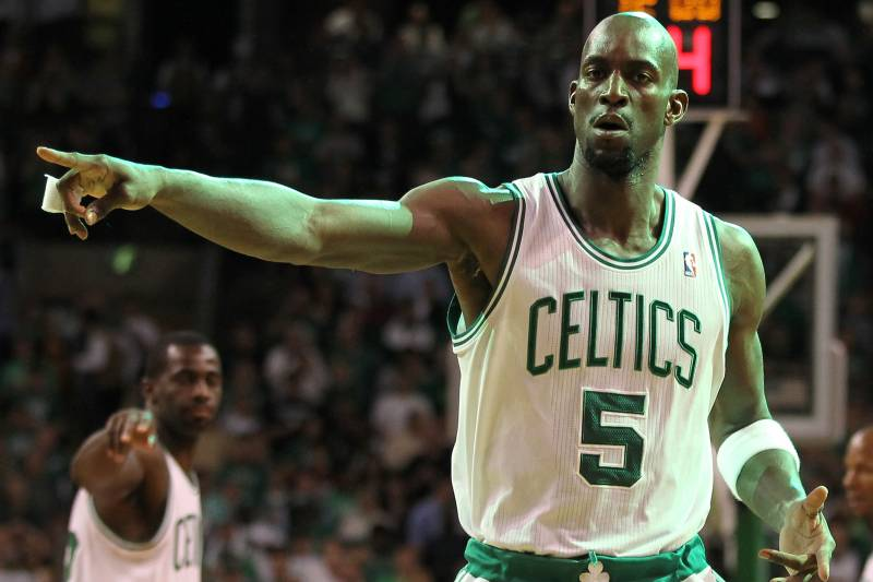 6813fc66995 Breaking Down the True Value of Kevin Garnett to the Boston Celtics ...