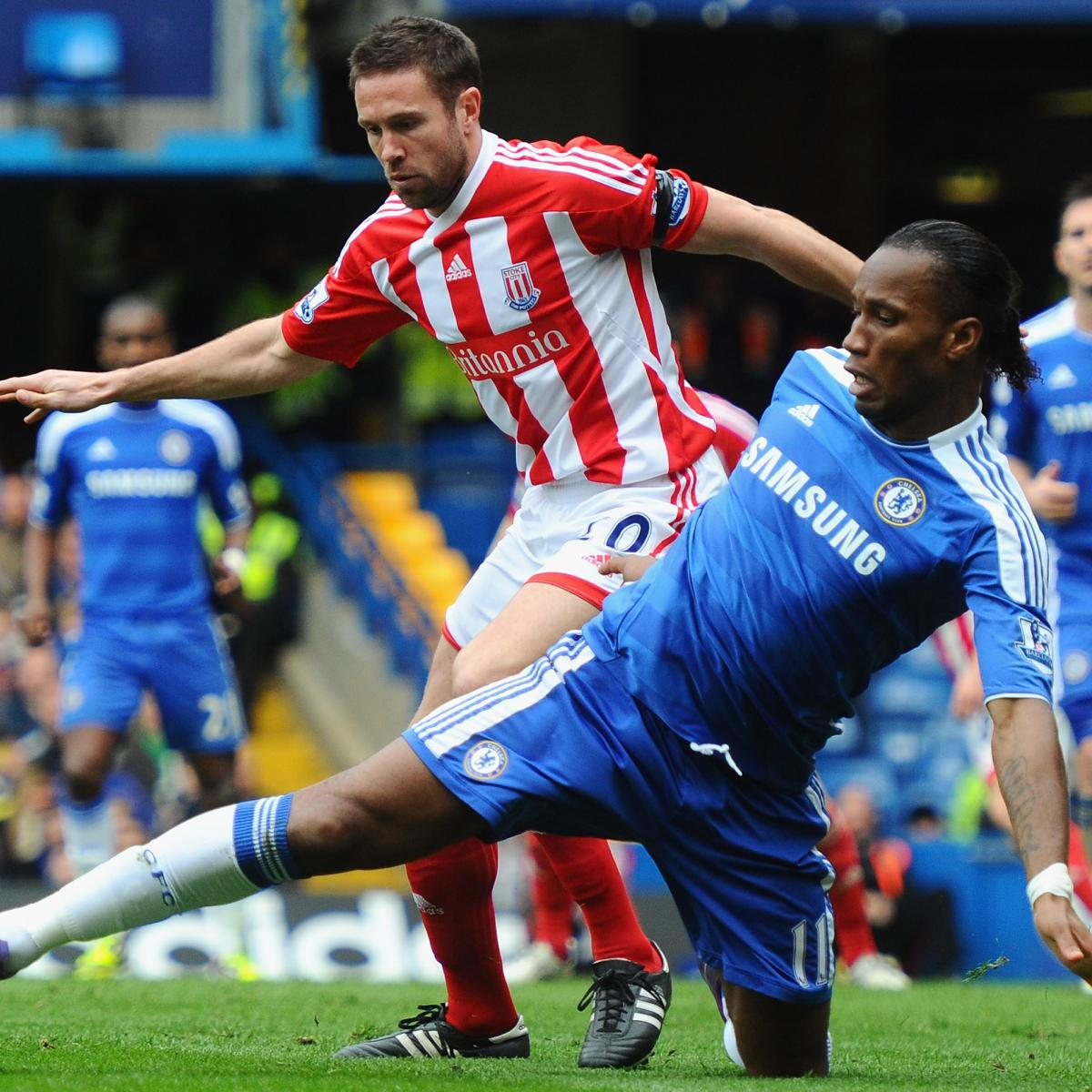 Chelsea Fc Latest News: Chelsea FC Vs. Stoke City FC: Odds, Preview And Prediction