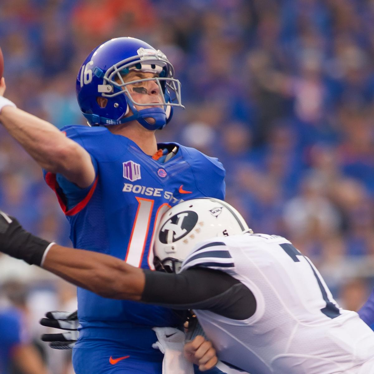 Boise State, BYU Send College Football Back to the Stone ...
