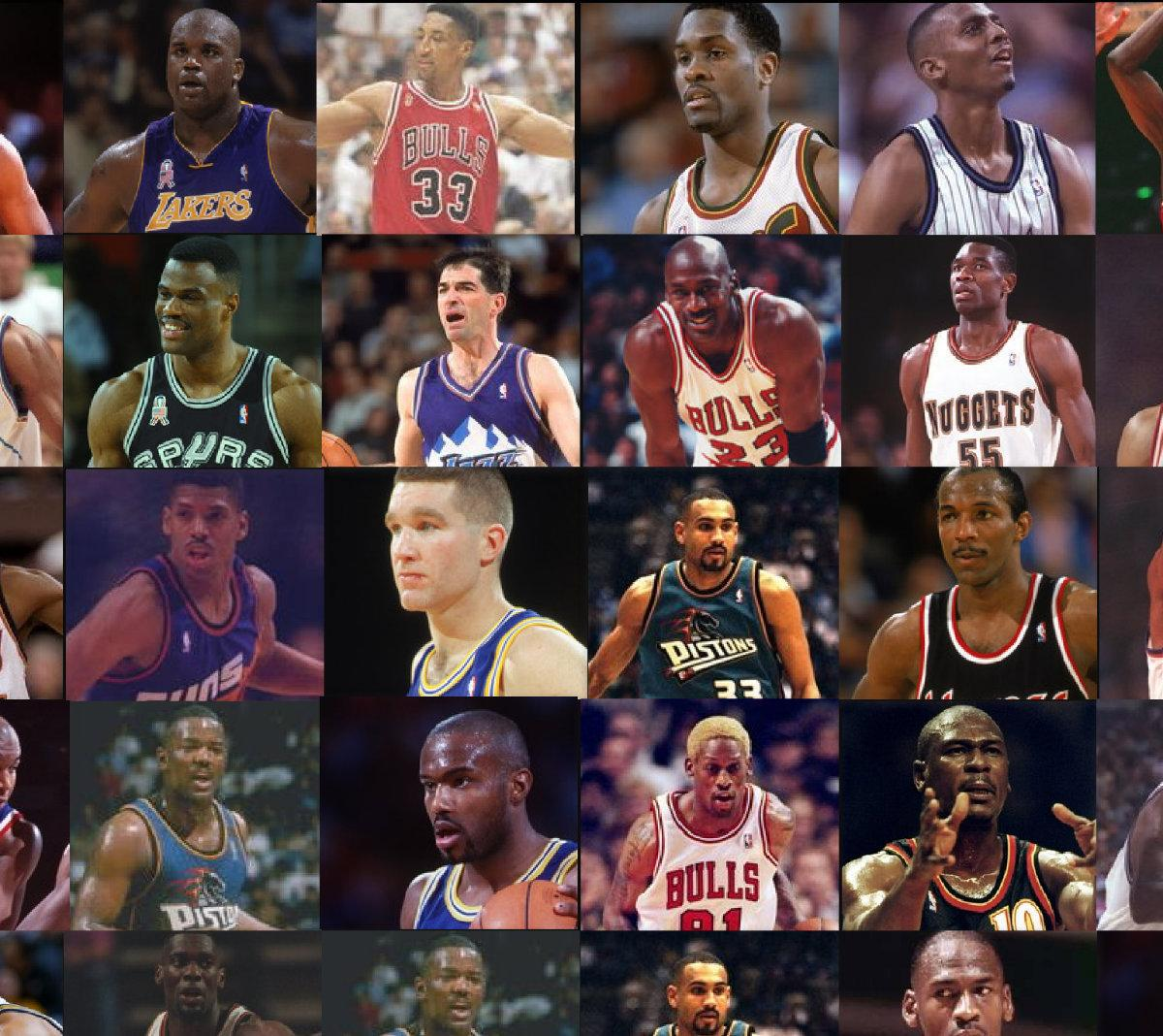 Best 25 Mid Century Living Room Ideas On Pinterest: Legends Of The NBA: 25 Best Players Of The 90s