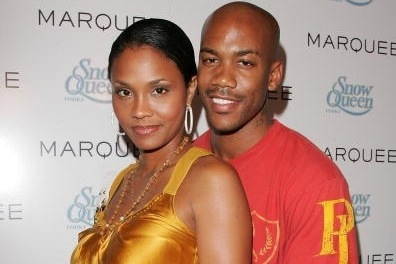 Stephon Marbury with relaxed, Wife Tasha Marbury