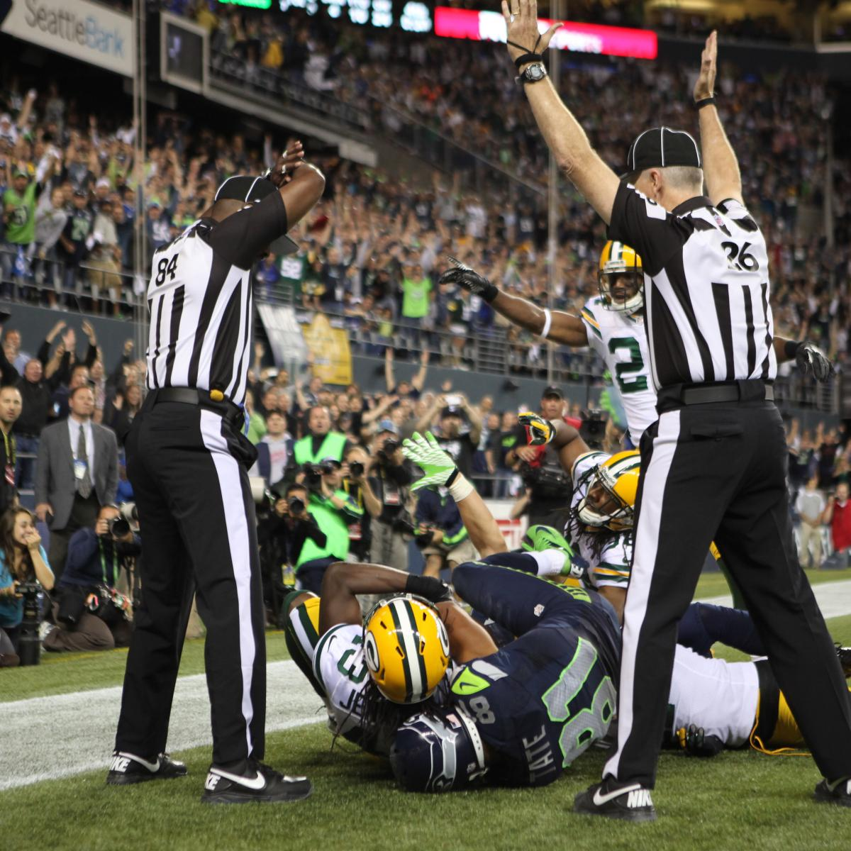 0ebe89608 Green Bay Packers-Seattle Seahawks Controversial Call Blows Up Twitter