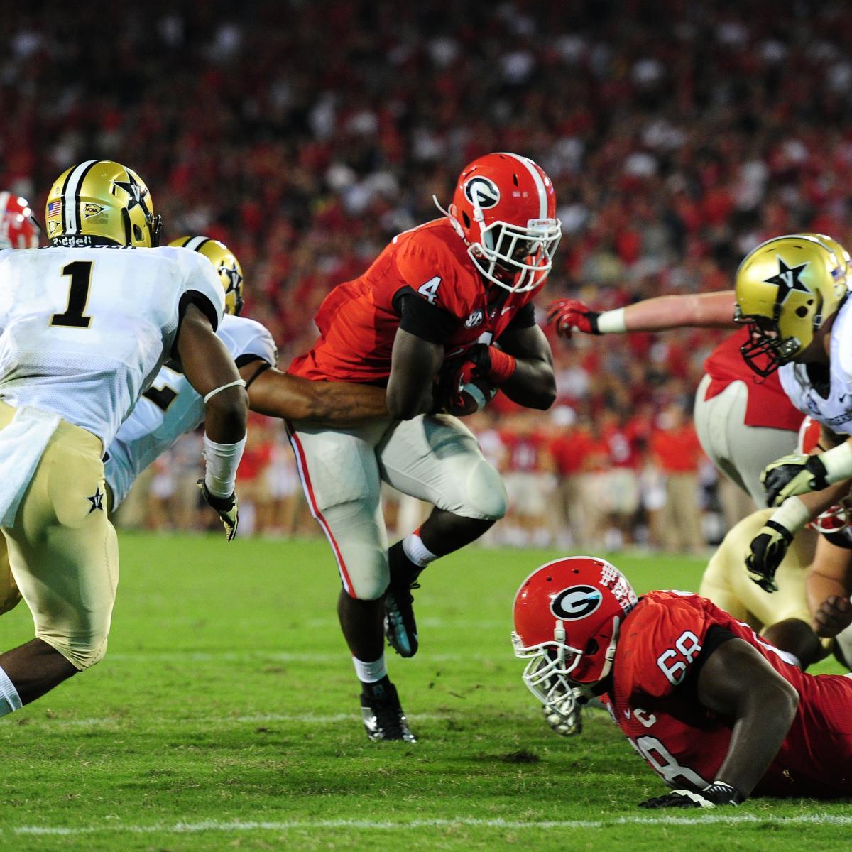 SEC Football: Georgia Bulldogs vs. Tennessee Vols Preview ...