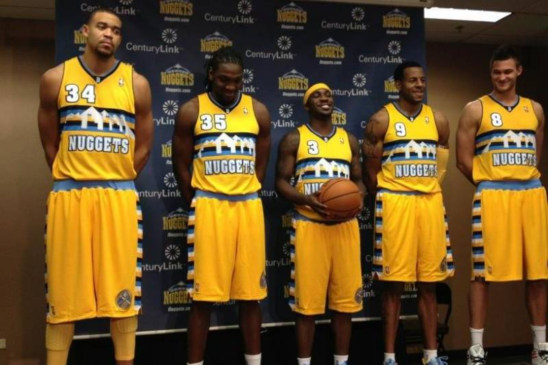 9b7e2ad1f74f Benjamin Hochman The Denver Post. Benjamin Hochman The Denver Post. The  Denver Nuggets revealed a new alternate jersey ...
