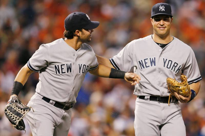 Nick Swisher Mark Teixeira Under October Microscope For New York