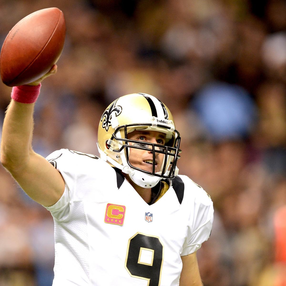 San Diego Chargers Drew Brees: Chargers Vs. Saints: Drew Brees' Historic Day Leads New