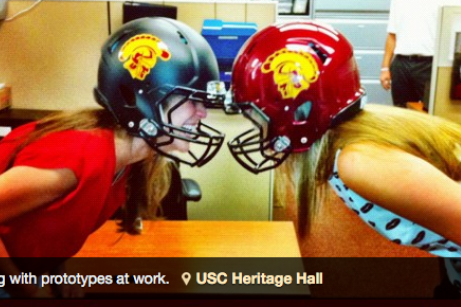 Are USC Trojans Jumping on Bandwagon with Possible New Matte Black Helmets    0aec80485