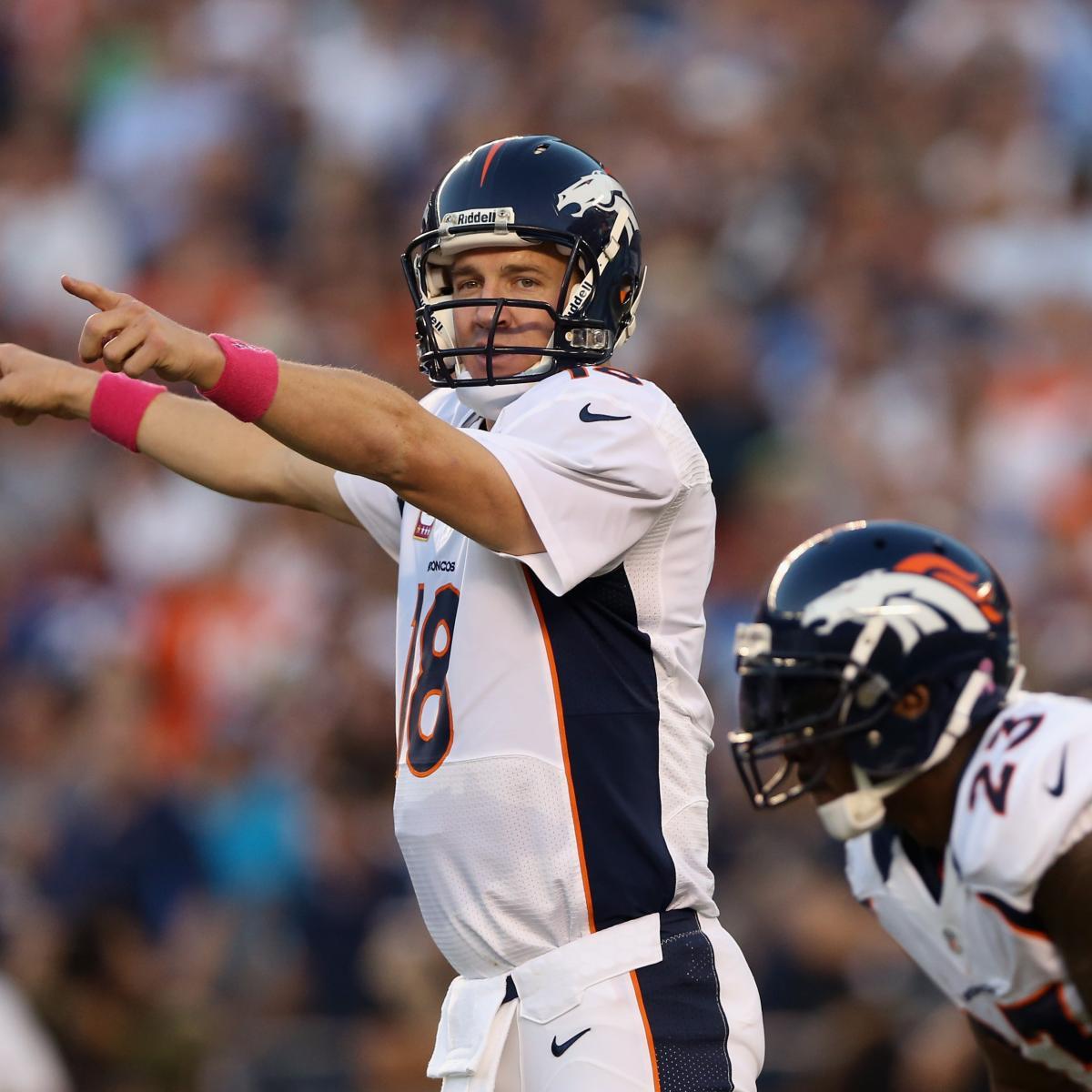 Denver Broncos Vs. San Diego Chargers: Live Game Grades