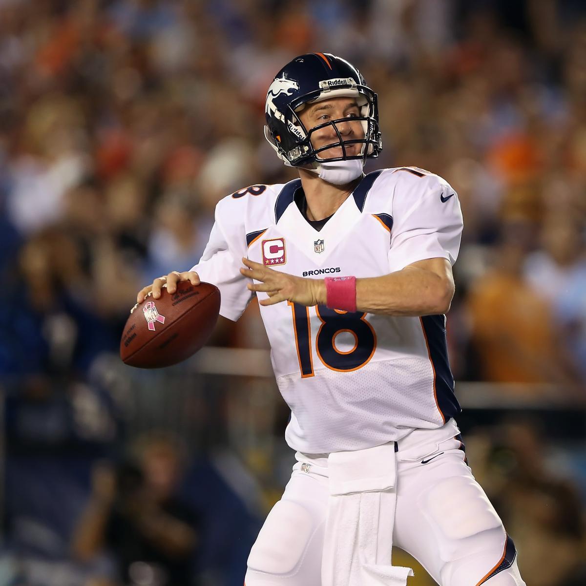 Denver Broncos: How Peyton Ranks Among Past Broncos
