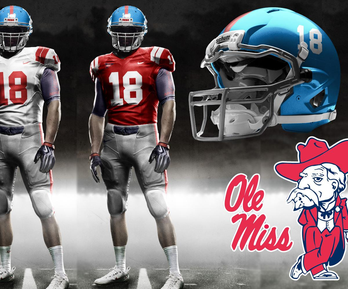 Ole Miss Football The Allure Of Powder Blue Bleacher Report Latest News Videos And Highlights