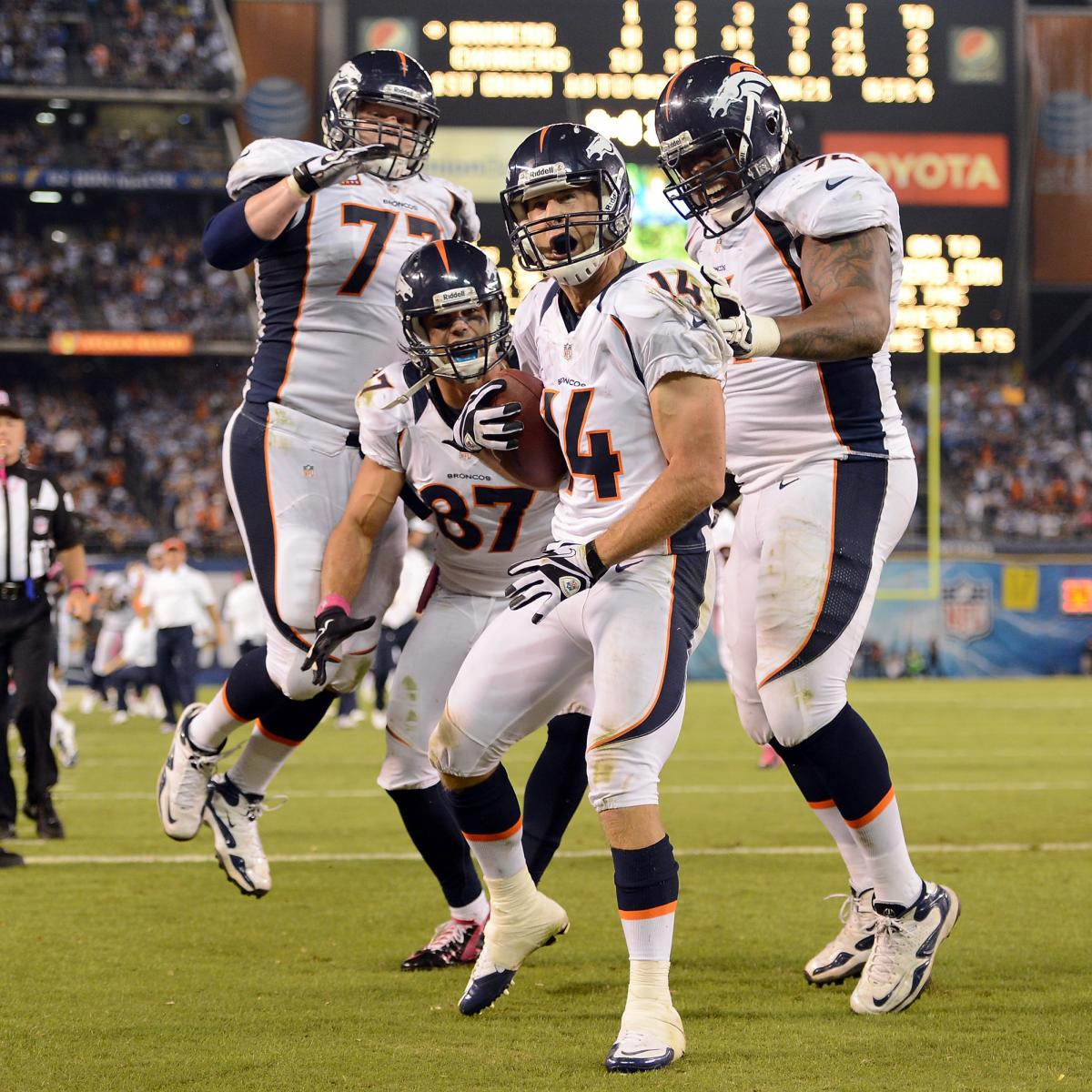 San Diego Chargers Bye Week: Denver Broncos: Midseason Report Card For Every Positional