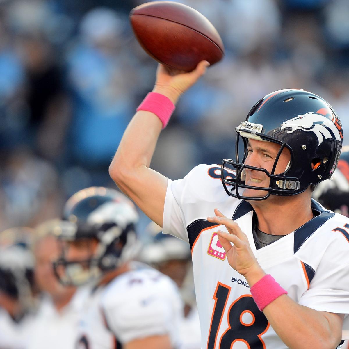 Denver Broncos Vs Detroit Lions Live Score Highlights And: Fantasy Football Week 8 Rankings: Top 25 Quarterbacks