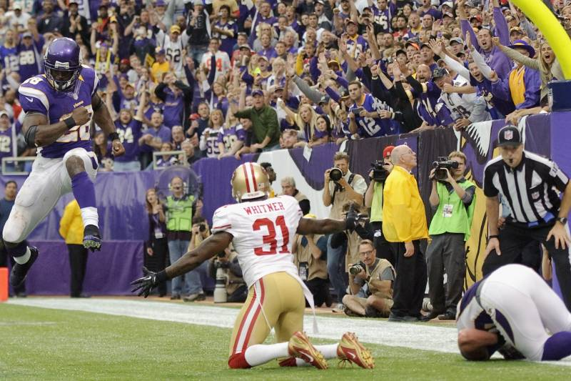 f6254de6d Against the Vikings, Donte Whitner had one of his poorest games as a 49er.
