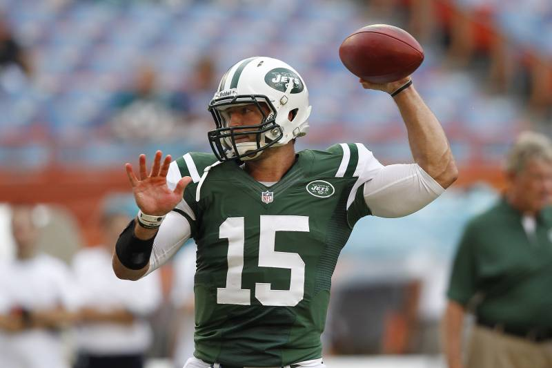 quality design c41f7 ffbb5 Tim Tebow: New York Jets Backup QB Will Disappear vs ...