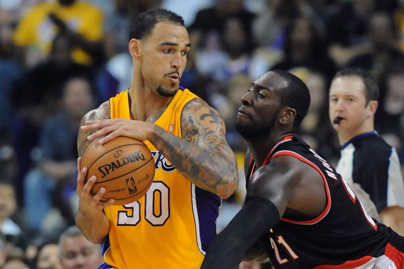 21726bc38 Lakers Rumors  Why Robert Sacre Making the Final Roster Is a Lock ...