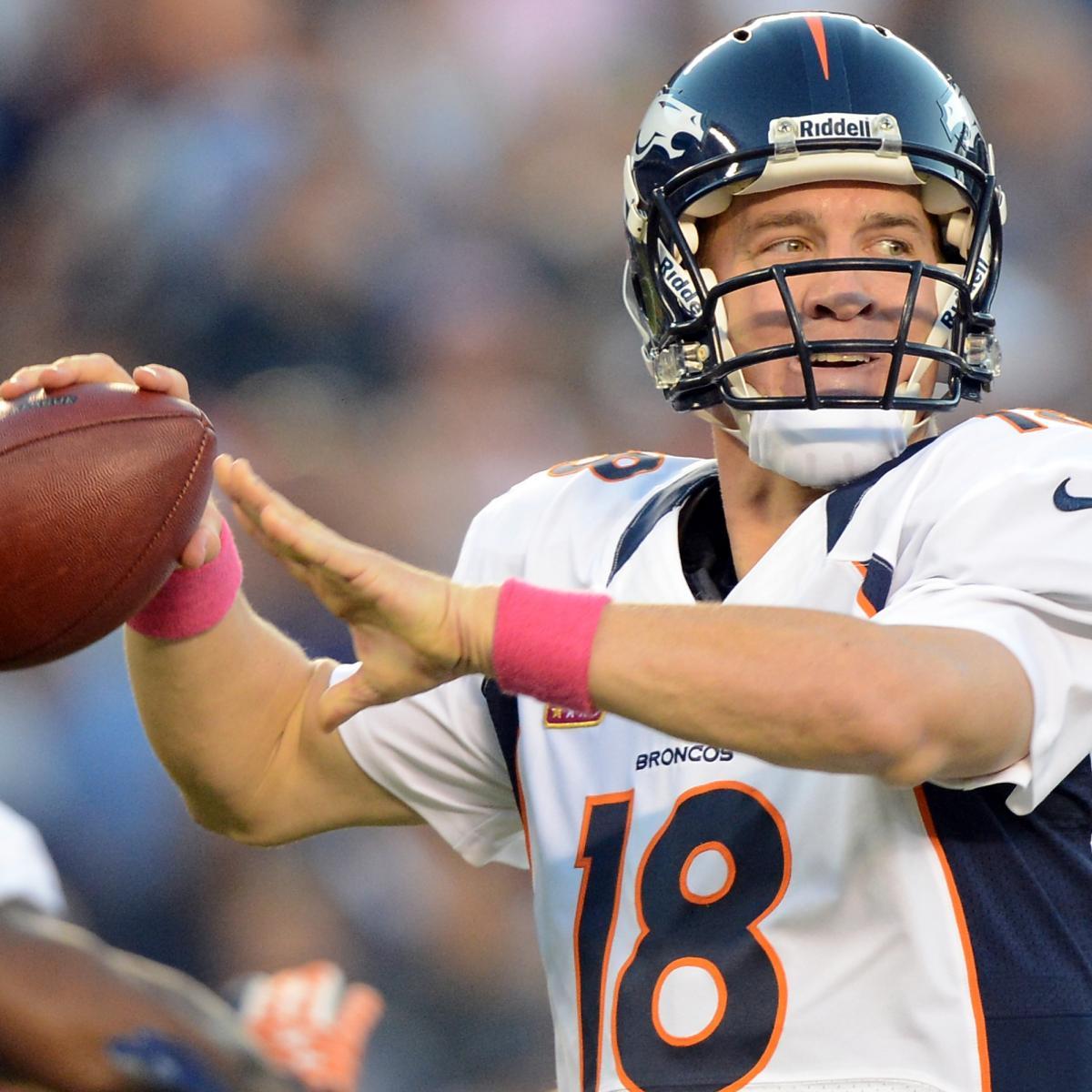 Saints Vs. Denver Broncos: Sunday Night Football Fantasy