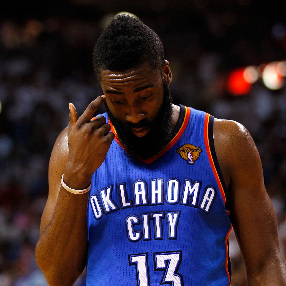 James Harden Free Agency: James Harden Reportedly Rejects 4-Year Deal With Thunder