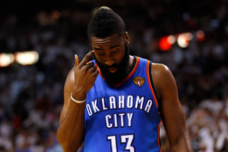 separation shoes 3ef20 25a43 James Harden Reportedly Rejects 4-Year Deal With Thunder ...