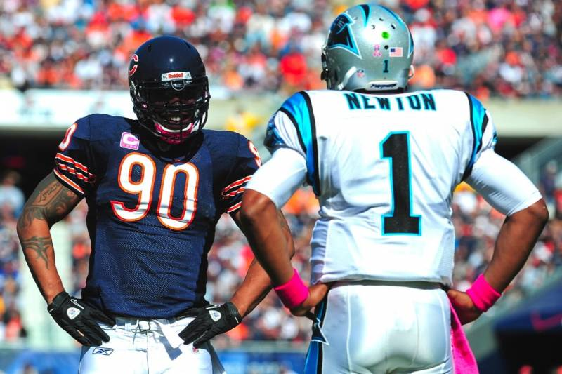 Image result for Panthers vs Bears live pic