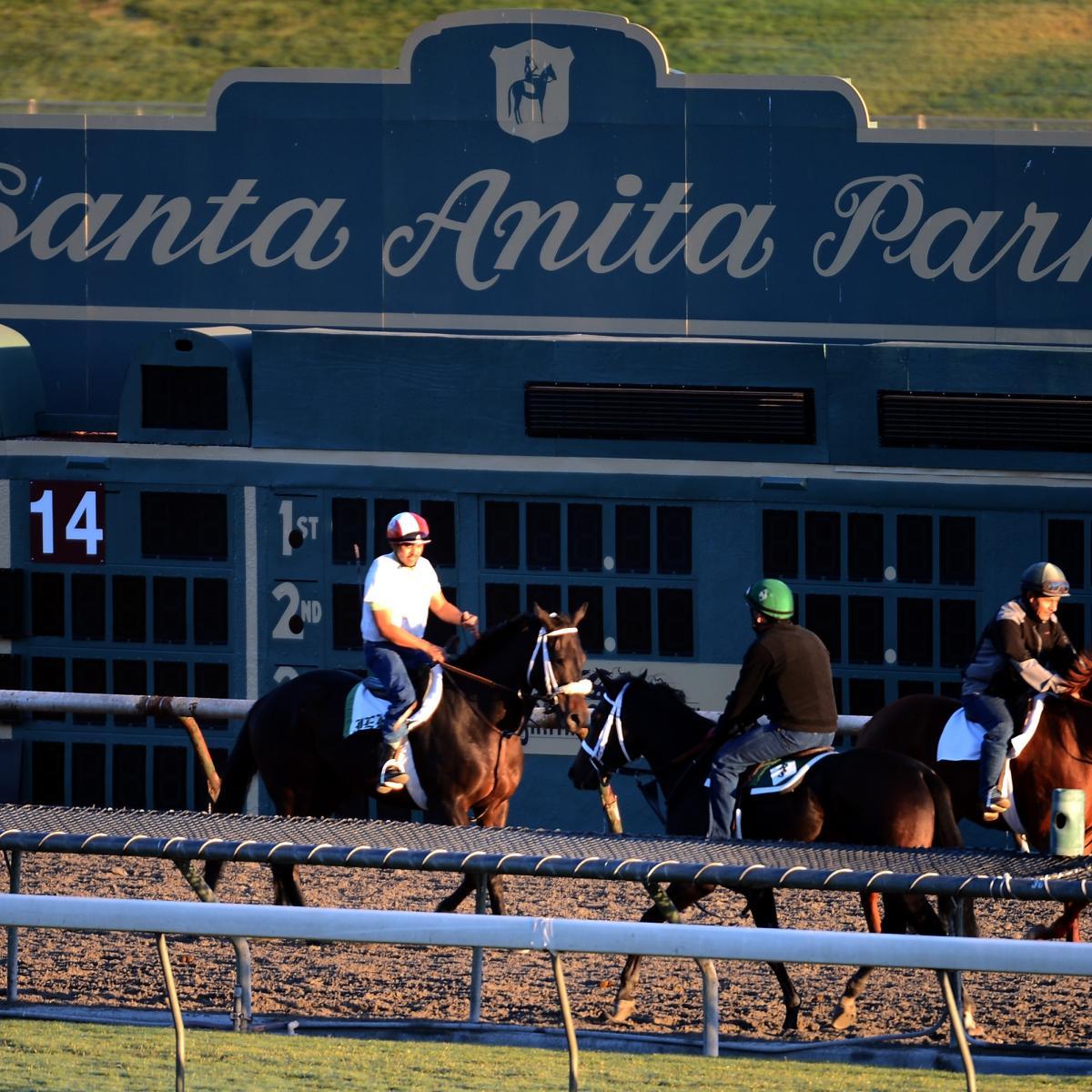 Santa Anita Race Track Length Records Breeders Cup