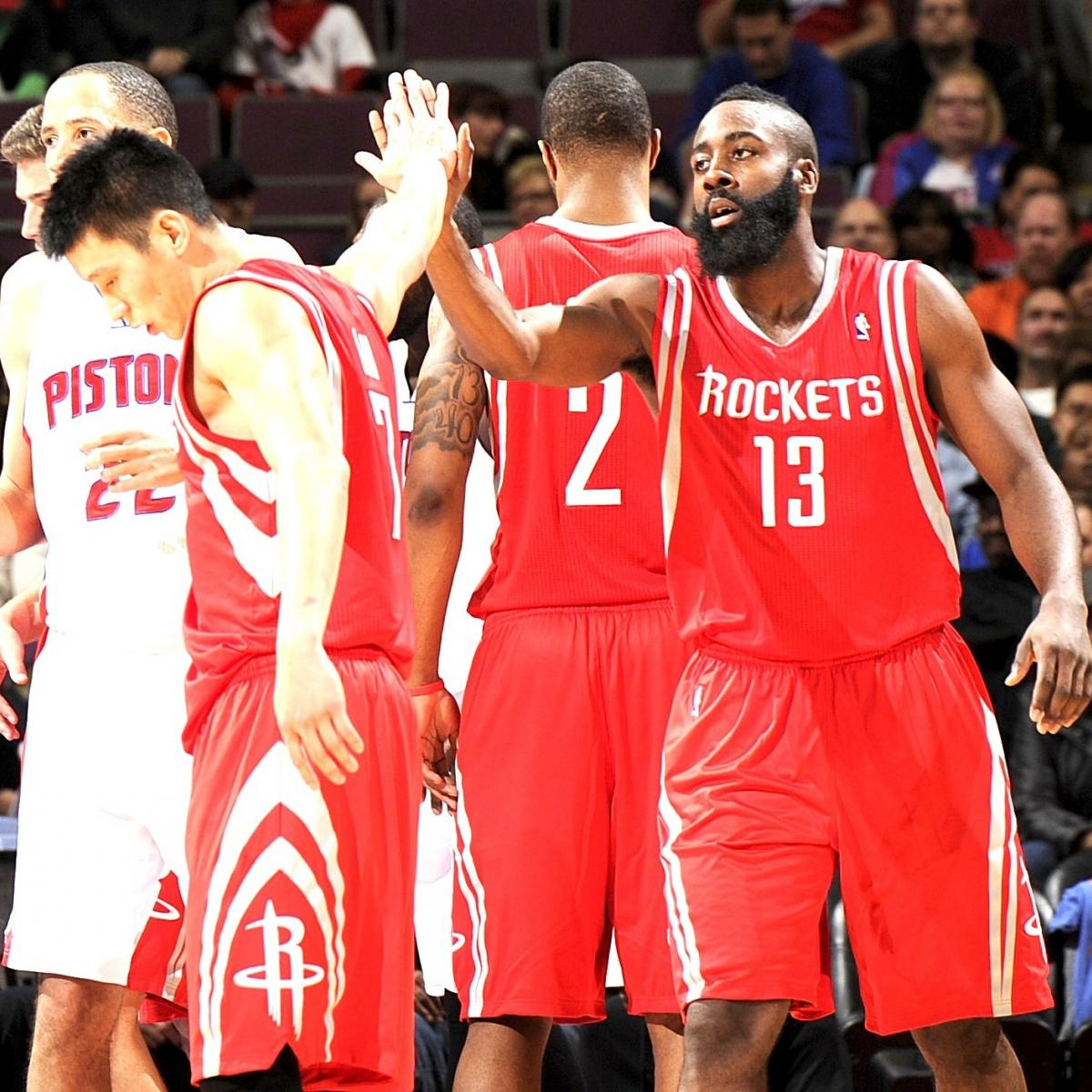 7ee262b71f3 Grading James Harden s Debut with the Houston Rockets