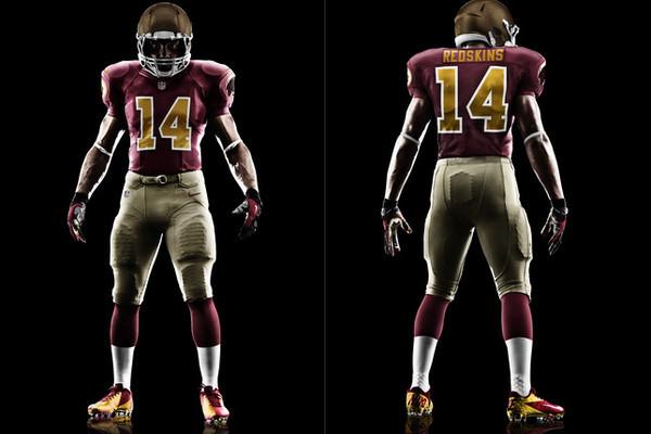b4bbfb01 Redskins Throwback Uniforms: Breaking Down Washington's 80th ...