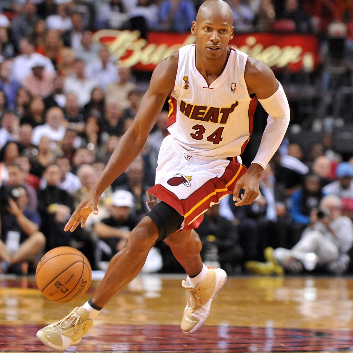 'Ray Of Hope': New Addition Ray Allen Clinches Game As