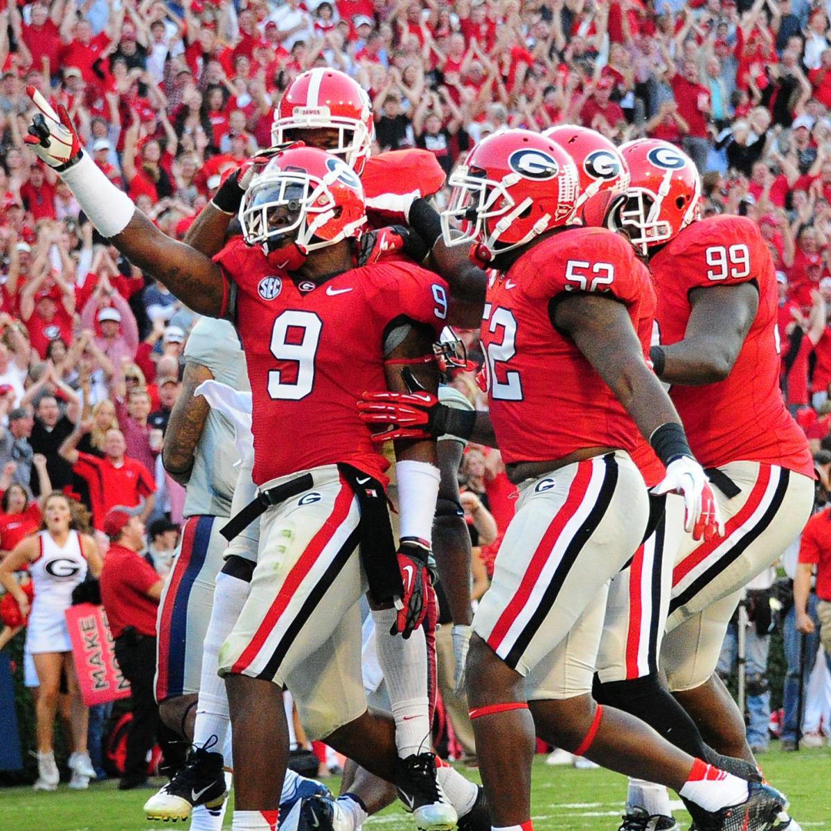 Georgia vs Auburn: TV Schedule, Live Stream, Radio, Game ...