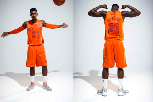 61eb52d681cb New York Knicks  New Alternate Uniforms Take Orange to a Whole New Level