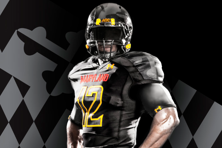 Breaking Down New Maryland 'Black Ops' Football Uniforms ...