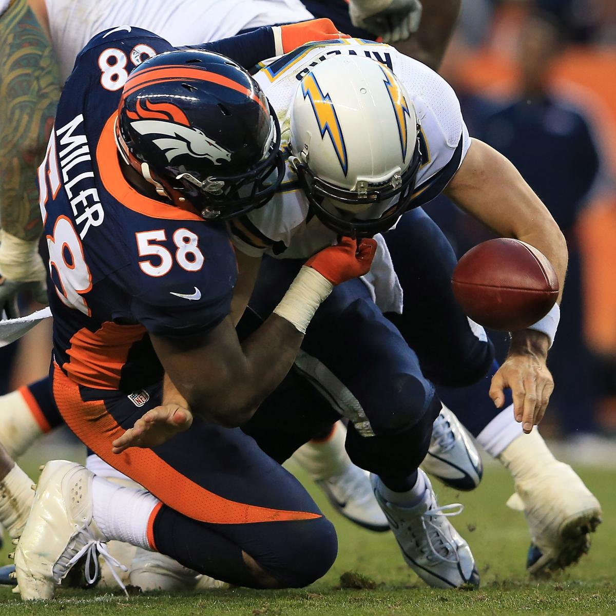 San Diego Chargers Bye Week: Chargers Vs. Broncos: Denver Puts Brakes On AFC West Race