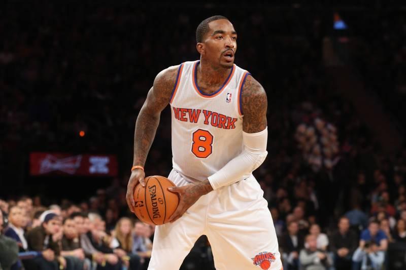 newest 20eb0 adb99 J.R. Smith Love Fest Won't Last the Winter for NY Knicks ...