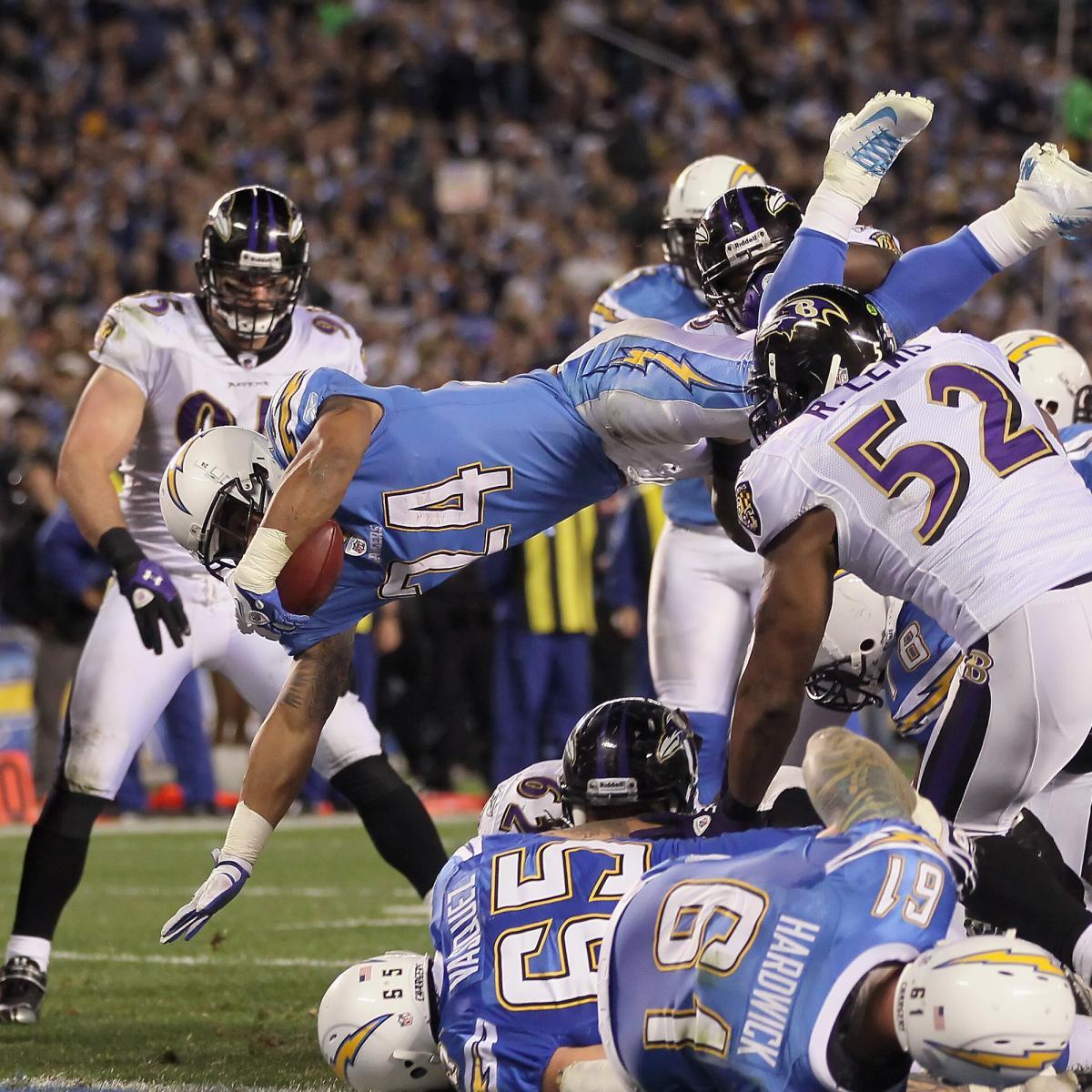 San Diego Chargers Baltimore Ravens: Baltimore Ravens Vs San Diego Chargers: 10 Keys To Game