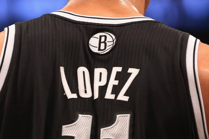 100% authentic 97738 1fbec Visual Proof That Brook Lopez Is Ready to Join the NBA's ...