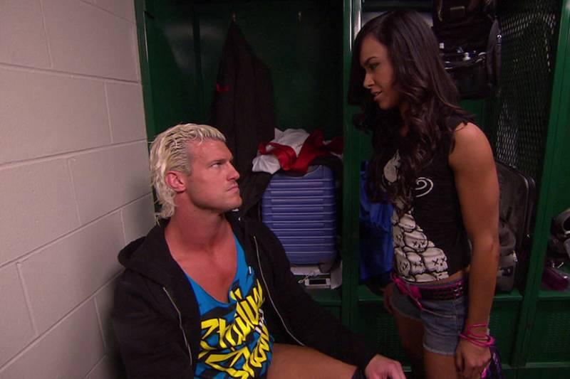 WWE AJ Lee dating Dolph Zigglerin