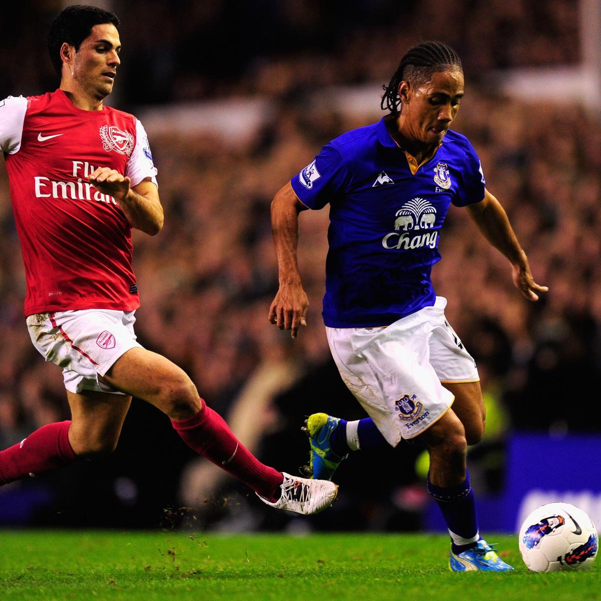 Arsenal Vs Tottenham Live Score Highlights From Premier: Everton Vs. Arsenal: Premier League Live Score, Highlights