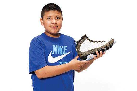 wholesale dealer 1b23c 0506a Breaking Down New Air Jordan 9 'Doernbecher' Shoes ...